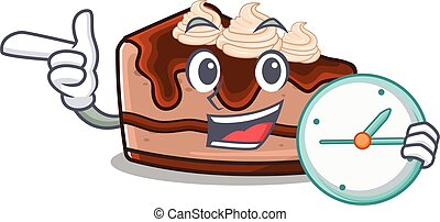 Chocolate Cheesecake 44 - cartoon character concept ...