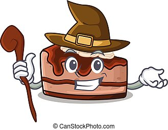Chocolate Cheesecake 51 - a mascot concept of chocolate ...