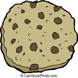 chocolate chip cookie cartoon - chocolate chip cookie...
