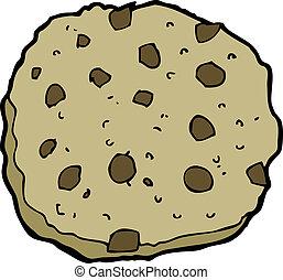 chocolate chip cookie cartoon - chocolate chip cookie...