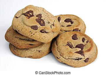 Chocolate chip cookies - fresh homemade chocolate chip ...
