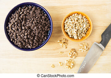 Chocolate Chips and Walnuts