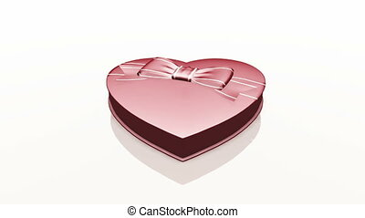 Chocolate  - chocolate in the heart box