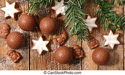 chocolate christmas