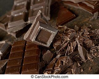 Chocolate close-up
