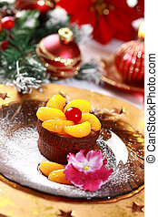 Chocolate Cup Cake for Christmas