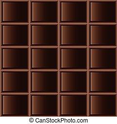 Chocolate dark tiles seamless texture