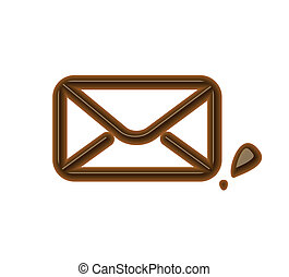 Chocolate email icon