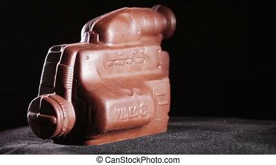 Chocolate figure