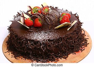 chocolate fruitcake