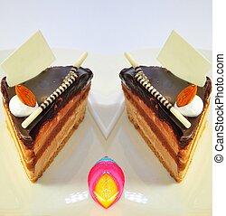 chocolate fudge coffee cake23