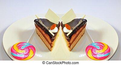 chocolate fudge coffee cake25
