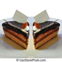 chocolate fudge coffee cake30