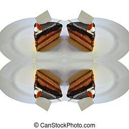 chocolate fudge coffee cake32