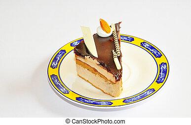 chocolate fudge yellow