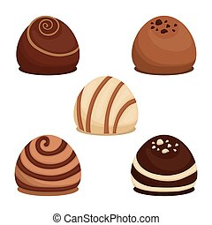 Chocolate icon design - Chocolate concept with sweet icon...
