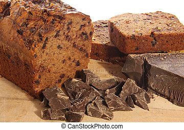 Chocolate loaf - Chocolate cake loaf.