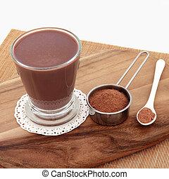 Chocolate Maca Drink