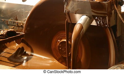chocolate machine HD video