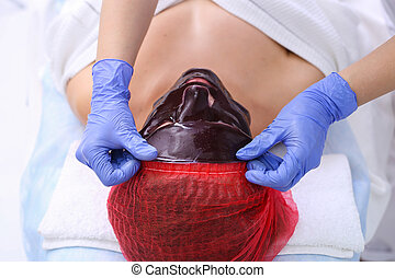 Chocolate Mask Facial Spa. Chocolate Treatments. Beauty Spa...