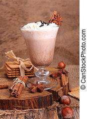 chocolate milk for winter