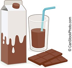 chocolate milk clipart and stock illustrations 17 976 chocolate rh canstockphoto com dairy milk chocolate clipart Glass of Milk Clip Art