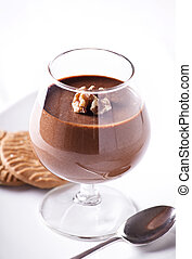Chocolate Mousse In A Glass