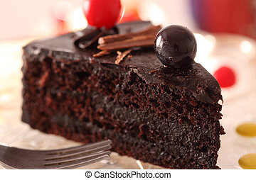 Chocolate Pastry - Chocolate Pastry is a dessert cake...
