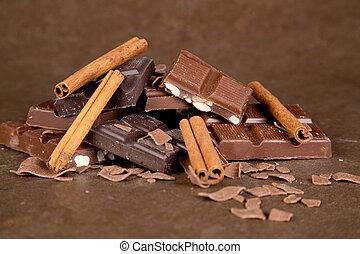 Chocolate Pieces - 01