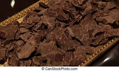 Chocolate - Pieces of chocolate