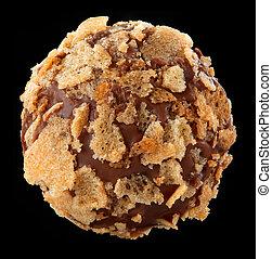 chocolate praline macro