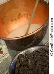 chocolate preparation