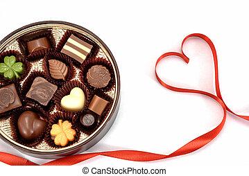 chocolate, presente