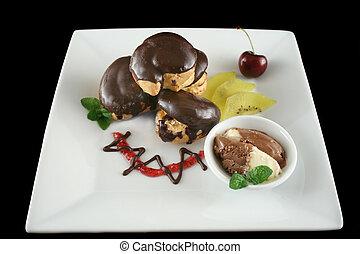 Chocolate Profiteroles 1