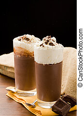 Chocolate Pudding - photo of delicious chocolate pudding ...