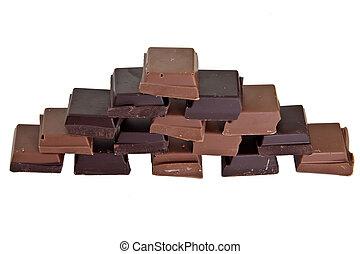 Chocolate pyramid