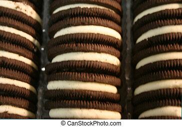 Chocolate Sandwich Cookies