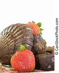 Chocolate sea shell