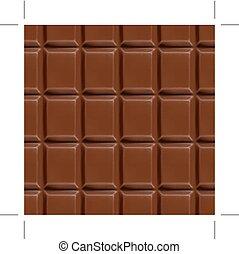 Chocolate seamless background