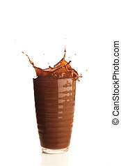 chocolate shake splash