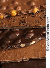 Chocolate slab - Slabs of assorted delightful chocolate...