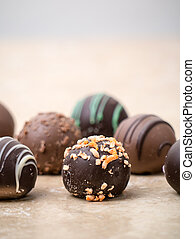 Chocolate Truffles - Delicious and tempting chocolate...