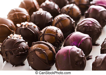Chocolate truffles - Gourmet assorted truffles hand made by ...