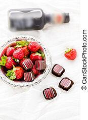 Chocolate truffles - Gourmet Balsamic strawberry chocolate ...