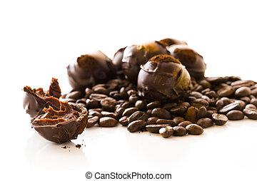 Chocolate truffles - Gourmet expresso truffles hand made by ...