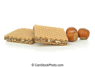 Chocolate Wafers - Chocolate filled wafer biscuits with ...