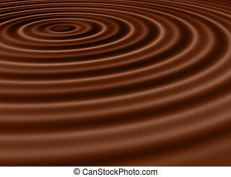 chocolate waves