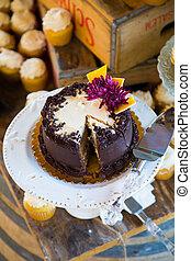 Chocolate Wedding Cake