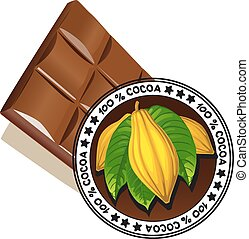 chocolate with seal of Quality