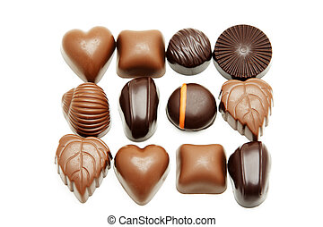 Chocolates - A different variety of delicious and yummy...